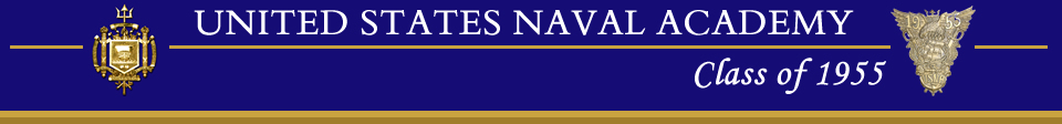 USNA Class of 1955 Header graphic